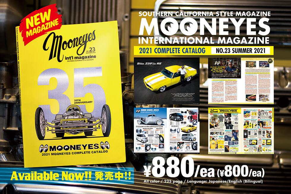 MOONEYES Int'l Magazine